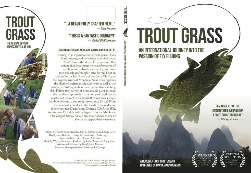 Trout Grass Revival DVD